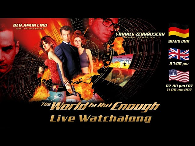 James Bond The World is not Enough - LIVE WATCHALONG