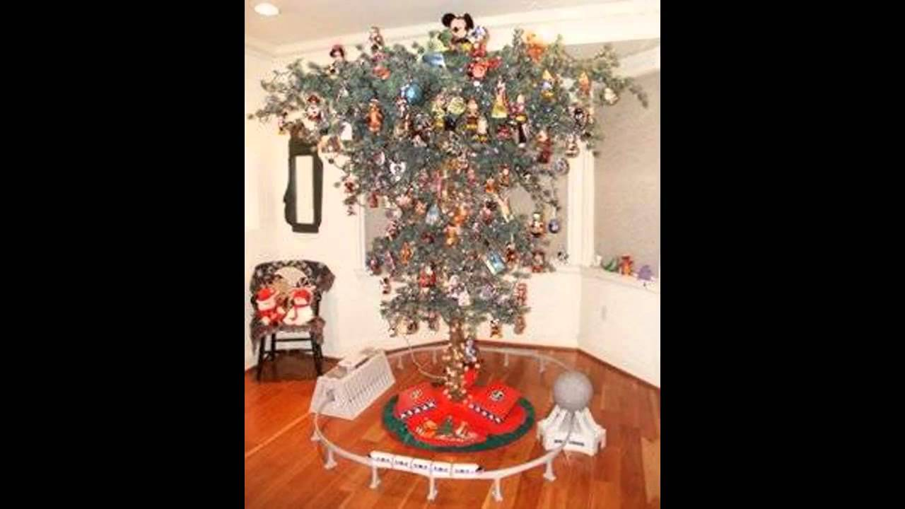 upside down christmas tree decorations - YouTube