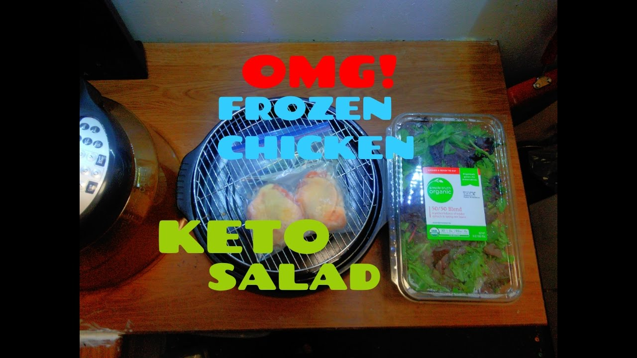 How To Bake Frozen Keto Chicken In Nuwave Infrared Oven