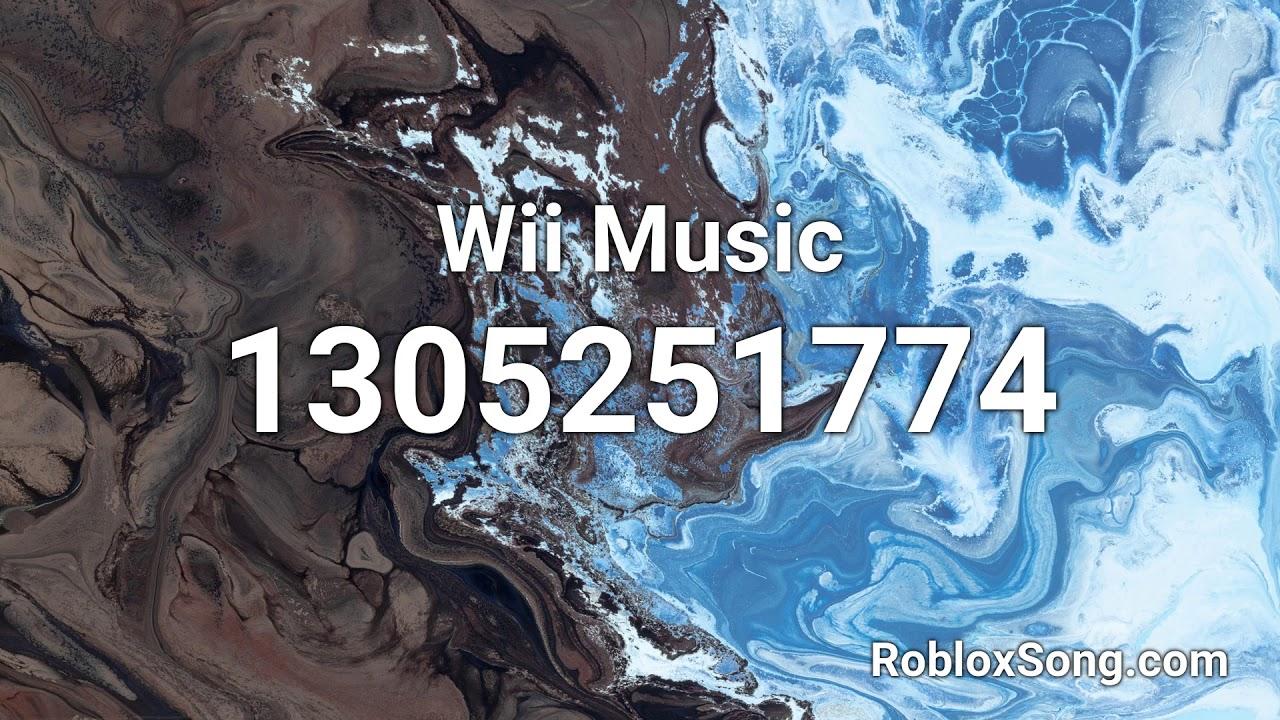 Wii Music Roblox Id Music Code Youtube