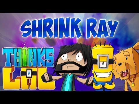 SHRINK RAY!! | Think's Lab Minecraft Mods [Minecraft Roleplay]