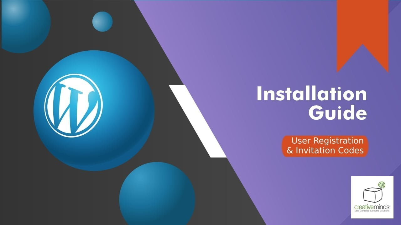 Registration Plugin for WordPress Installation tutorial