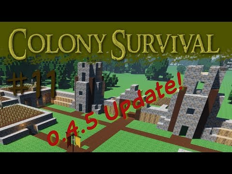 Colony Survival Ep. 11 - Update!  0.4.5