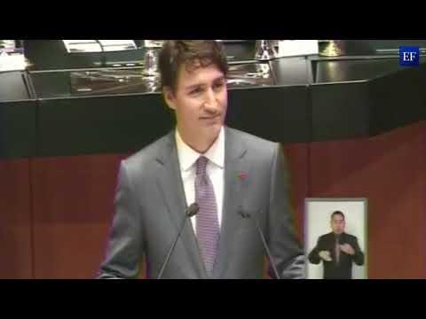 Justin Trudeau en el Senado