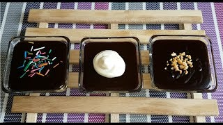How to make Chocolate Pudding | Eggless Chocolate Pudding | Chocolate dessert recipe