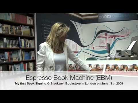 ON DEMAND BOOKS and ESPRESSO BOOK MACHINE at Blackwell bookstore London