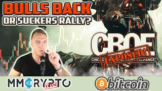 Bitcoin Bull Reversal or Suckers Rally!? (REALTALK)
