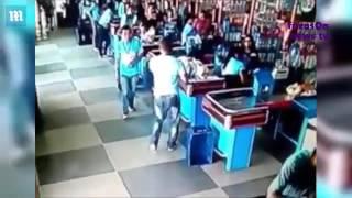 Brazilian supermarket staff are brilliant at soccer