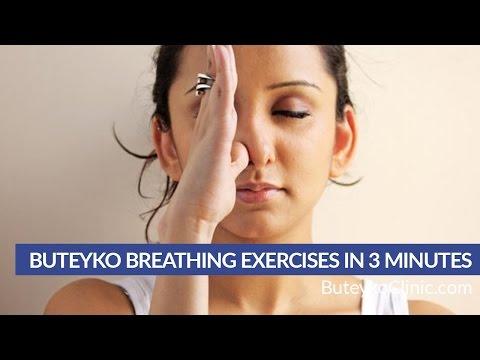 Buteyko Breathing Exercises in 3 minutes by Patrick McKeown