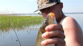 Рыбалка на озере Байнауш.