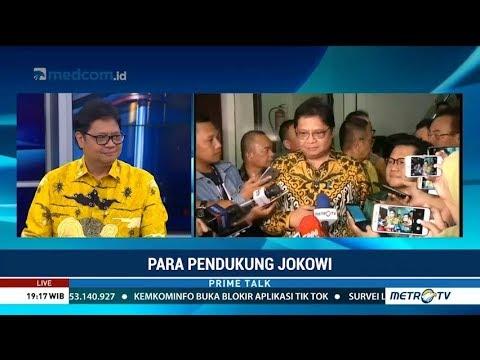 Airlangga: Golkar dan PKB Sepakat Dukung Jokowi