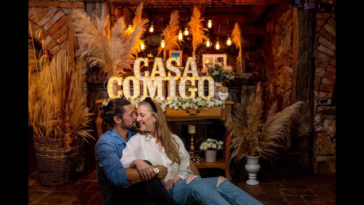 Jantar mais romântico que você já viu - Pedido de Casamento Surpresa em Gramado