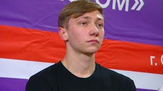 Егор Мурашов Короткая программа Мужчины Кубок России по фигурному катанию 2020 21