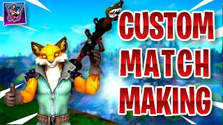 (EU) CUSTOM MATCHMAKING | PS4,XBOX,PC,SWITCH,MOBILE in Fortnite Live