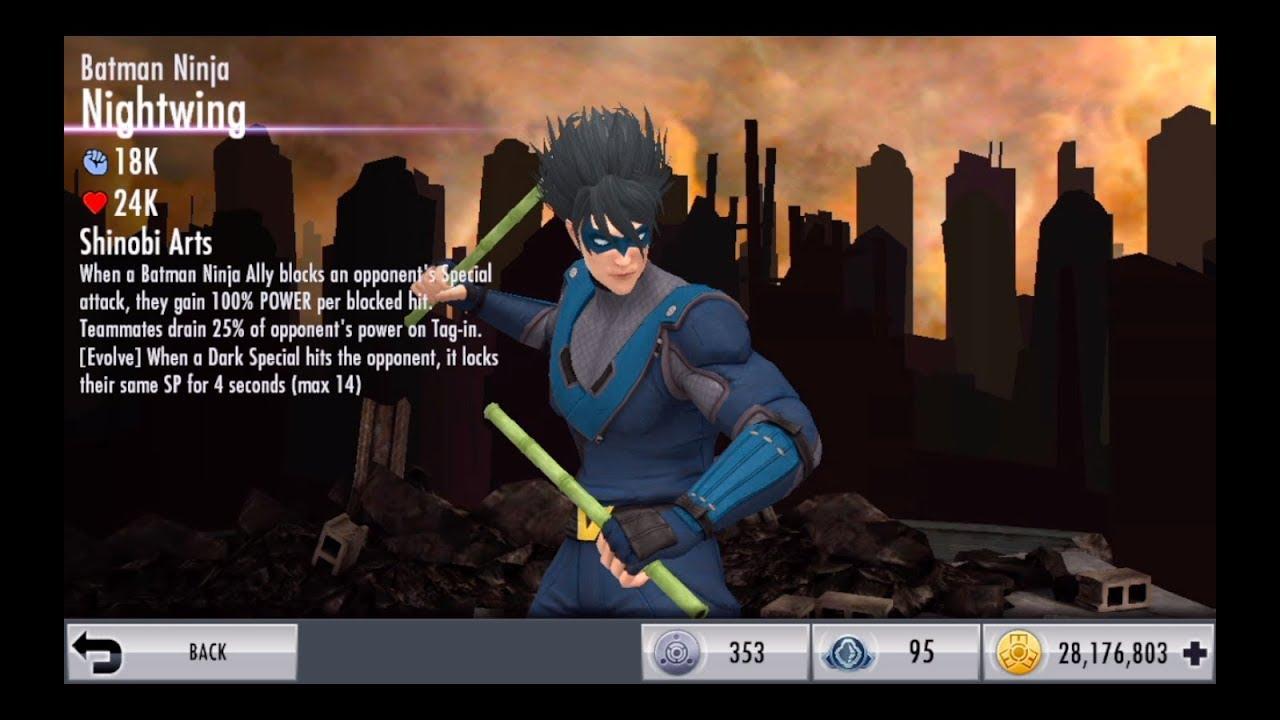 Injustice Ios Metal Batman Ninja Nightwing First Look Youtube