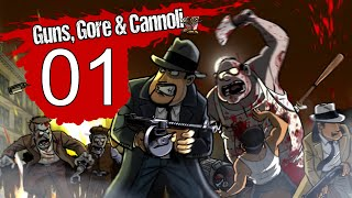 Guns Gore & Cannoli Walkthrough Gameplay Part 1 PC LetsPlay