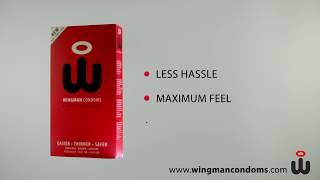 Быстро надеваемые презервативы Wingman Condom. Голландия.