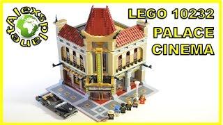 Lego Cinema Palace Build Review. Lego 10232.