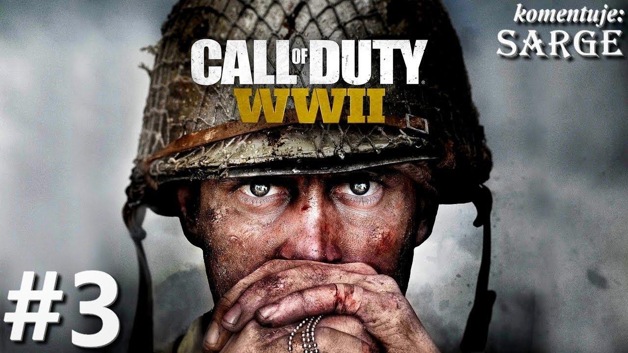 Zagrajmy w Call of Duty: WW2 [60 fps] odc. 3 – Wszystko się wali!