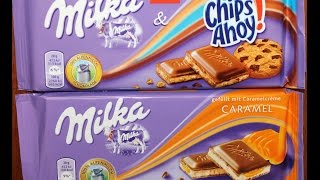 From Germany! Milka: Chips Ahoy & Caramel Review