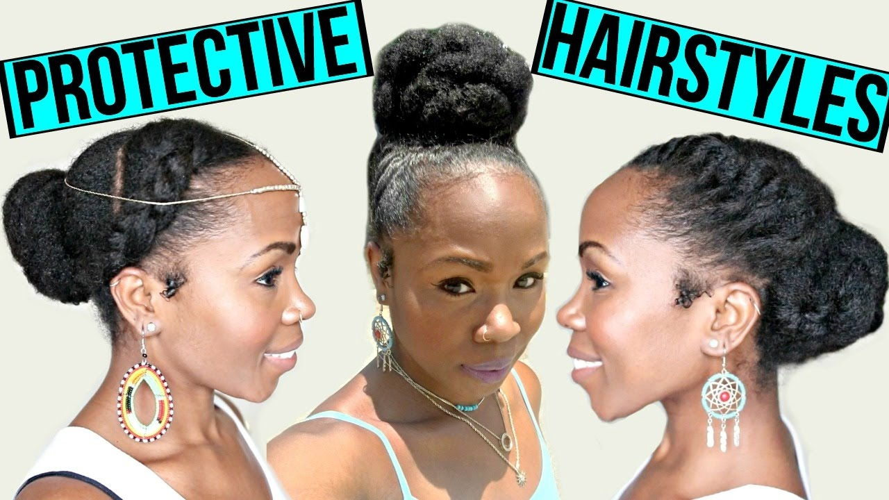 Fast Protective Hairstyles For Hair Growth Length