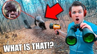 i found bigfoot in real life using spy gadgets sasquatch evidence