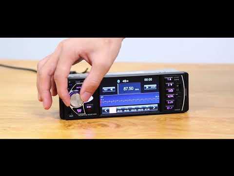 4022D Bluetooth Car Stereo MP5 Player USB TF Card AUX U Disk Radio Receiver