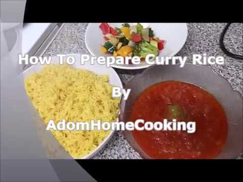 How To Prepare Curry Rice