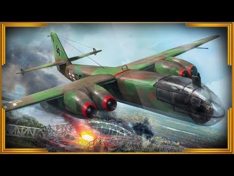 """АРАДО AR 234 """"Блитц"""". Первый в мире реактивный бомбардировщик"""