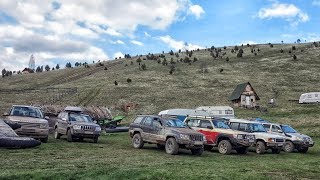 Jeep Grand Cherokee, Nissan Patrol, Land Rover Discovery, Toyota Hilux - Off Road Serbia 2/2