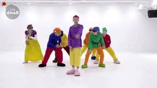 (Mirrored & Slowed 50%) '고민보다 GO (GOGO)' Dance Practice - BTS (방탄소년단)