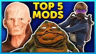 Star Wars Battlefront 2 Top 5 Mods of the Week - Mod Showcase #108