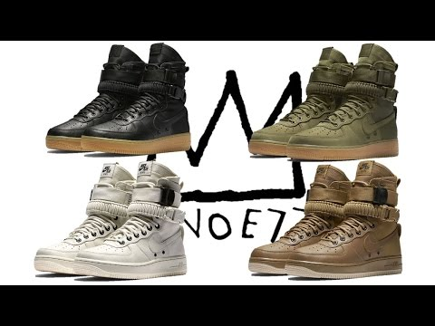 NIKE SPECIAL FIELD AIR FORCE 1, KOBE AD RELEASE INFO, PUMA SELF LACING SNEAKERS & MORE!!