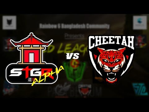 Gold League 2018 Day-5, STEiGER Alpha vs. Cheetah Falcon (Winner Bracket)