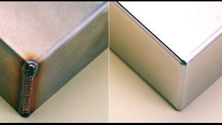 Полировка нержавеющей стали до зеркала!!! /Stainless steel polishing(Присоединяйтесь в группу Вконтакте https://vk.com/samo_delkini Facebook ttps://www.facebook.com/groups/362989353894627/ Публикуйте свои видео..., 2014-12-04T22:34:41.000Z)