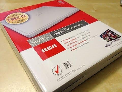 Unboxing: RCA HDTV Antenna
