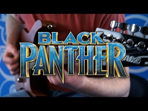Black Panther Theme on Guitar