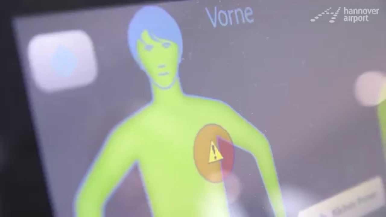 Neuer Körperscanner Bedenkenlos Durch Die Sicherheitskontrolle