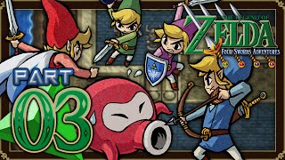 The Legend of Zelda: Four Swords Adventures - Part 3 - Hyrule Castle