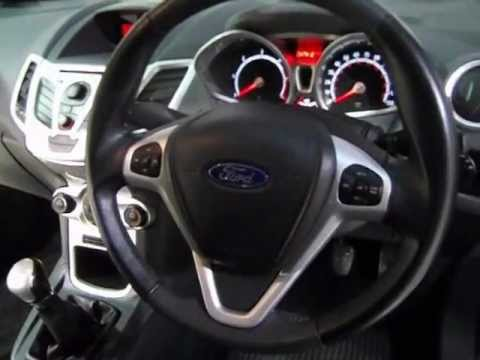 ford fiesta exterior interior tour of a 09 plate. Black Bedroom Furniture Sets. Home Design Ideas