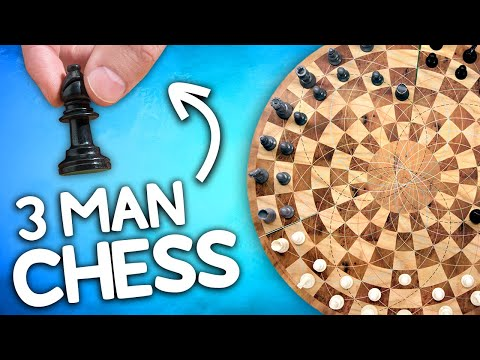 Three Man Chess is head-to-head-to-head mental combat.