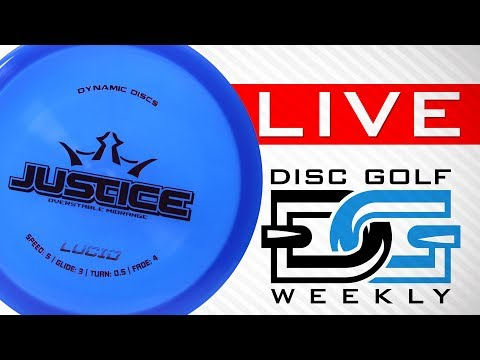 DGweekly Live Episode 19 | Dynamic Discs Justice