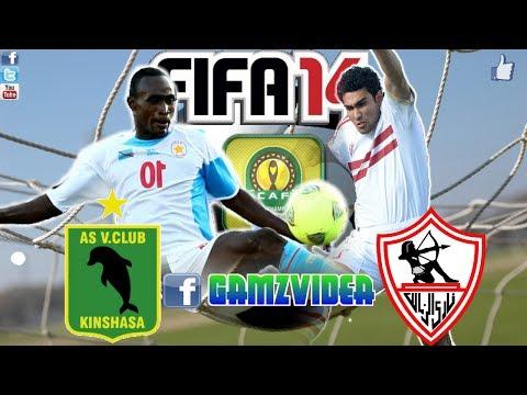 Fifa 14 CAF Ligne AS Vita contre Zamalek SC