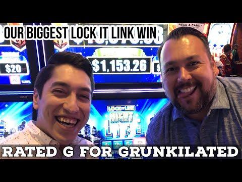 BIG BONUS Win on Lock It Link Nightlife in Las Vegas