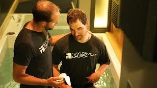 Jay Ross Baptism