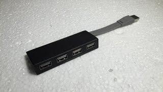 Cheap Tech - Targus 4 Port USB hub unboxing
