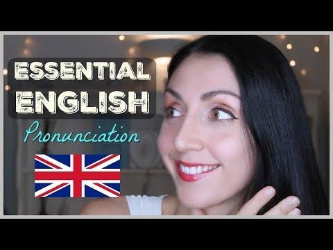 250 Essential English Words: PRONUNCIATION LESSON