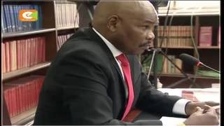 [VIDEO] CJ candidate Prof. Makau Mutua grilled over loyalty to the President