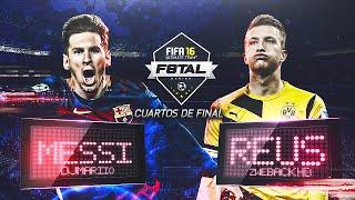 F8TAL LEO MESSI | CUARTOS DE FINAL | DjMaRiiO vs ZwebackHD | FIFA 16