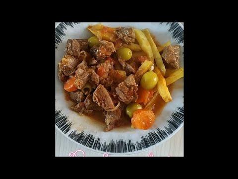 recette-ramadan-***bœuf-aux-olives-facile-et-rapide-au-cookeo*****
